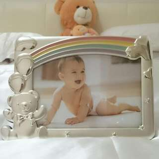 *REDUCED* Baby Rainbow Picture Frame