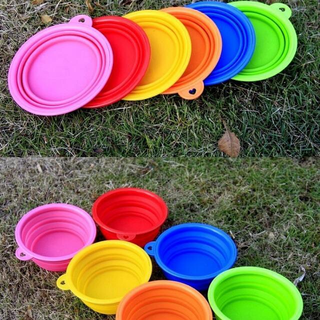寵物外出折疊碗