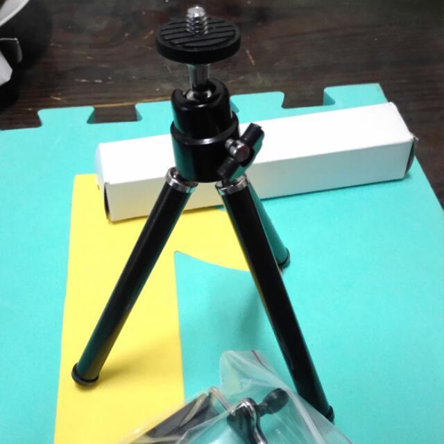 手機 相機 小腳架+固定架