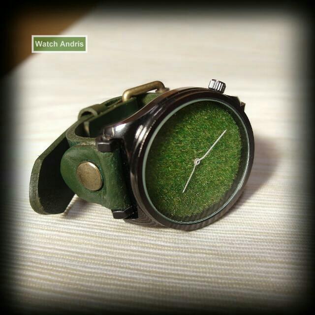 草皮手錶 (限量)
