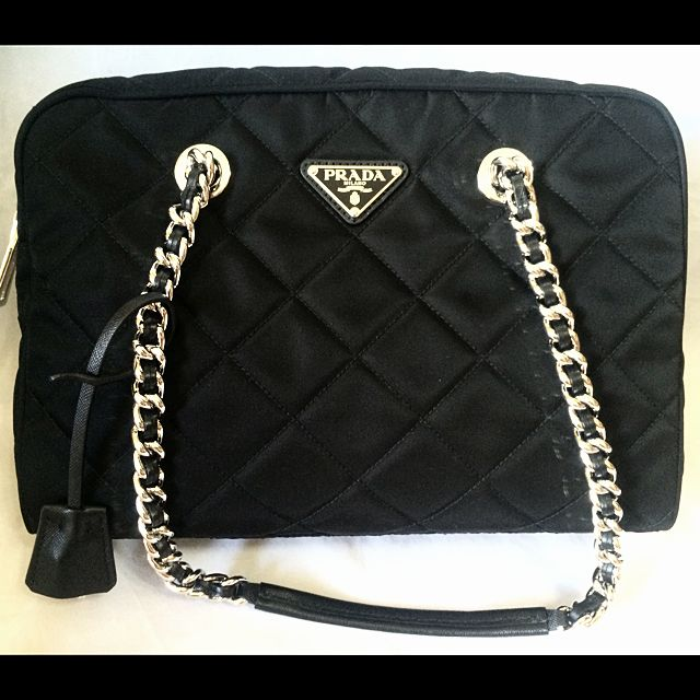 ... coupon for prada black tessuto impuntu quilted chain bag bl0903 1bb903  luxury on carousell 9147b f3b6e ... 8df6db039475e