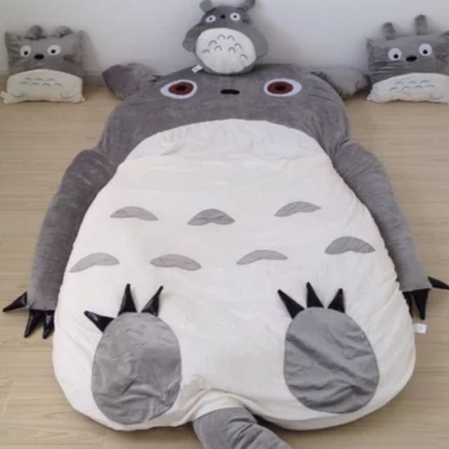 Free Gifts Totoro Sleeping Bed Sofa Bed Furniture On Carousell