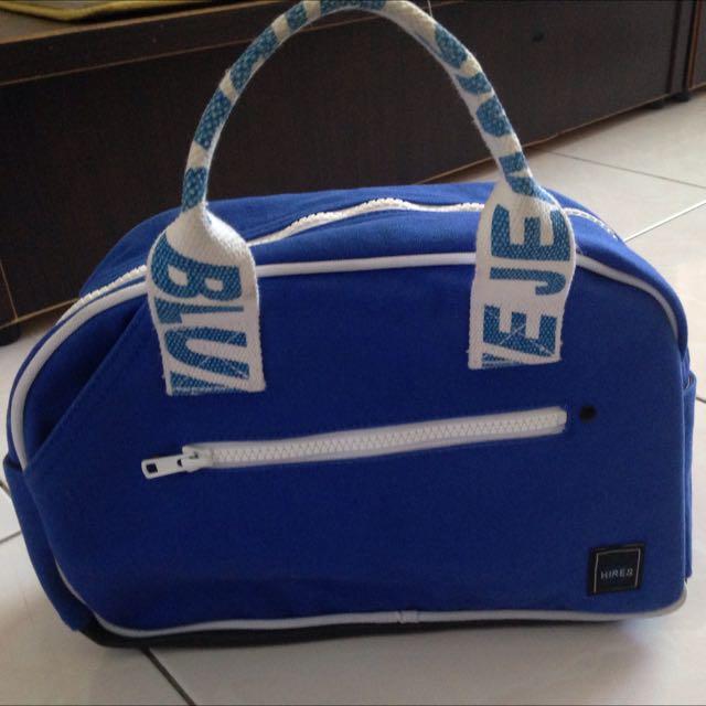 Hires藍色手提包