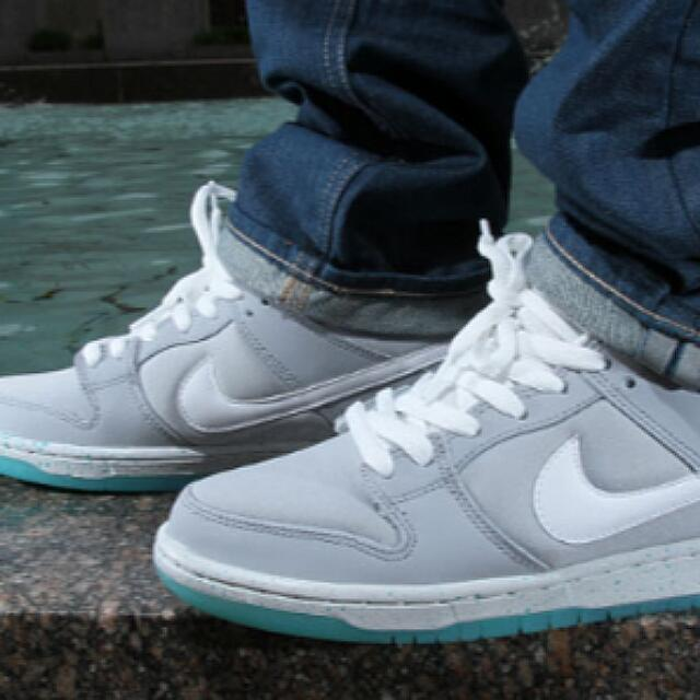 low priced b9a97 d9607 Nike Sb Dunk Low Pro Premium 'Marty Mcfly', Men's Fashion on ...