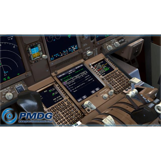 PMDG Boeing 777-212LR base pack until SP1C - FSX ADDON