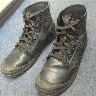 Palladium Boots vintage Leather