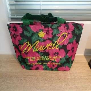 可愛小花提袋 便當袋