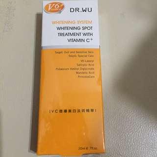 Dr.Wu VC微導美白淡斑精華液