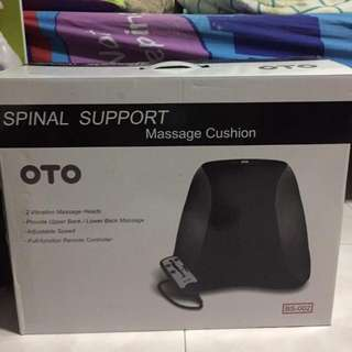 (Reserved) Deposit Paid ~ OTO Spinal Support Massage Cushion