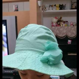 女孩防曬帽