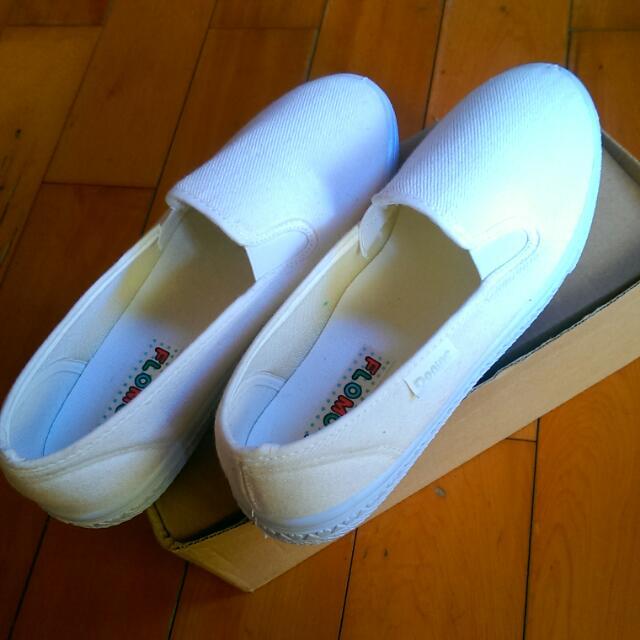 保留🔸9成新🔸懶人小白鞋