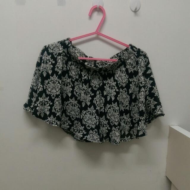 巴洛克雪紡褲裙