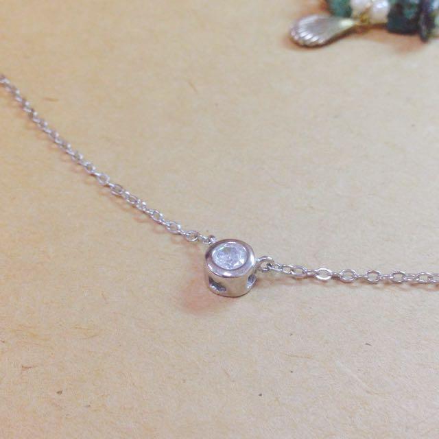 小單水晶項鍊