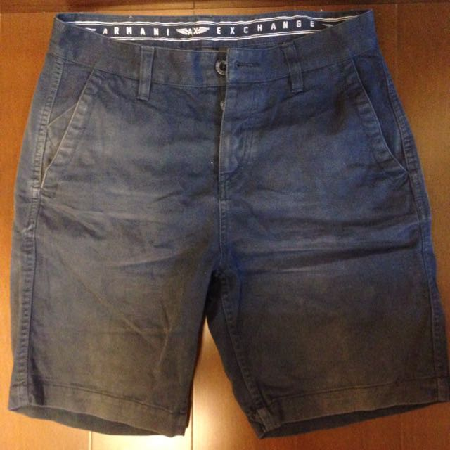Armani Exchange 深藍色短褲