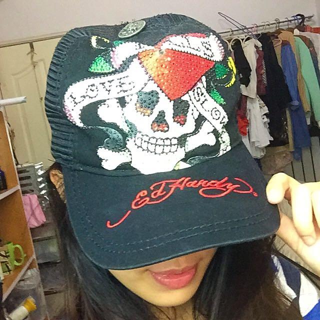 ✨出清便宜賣✨EdHardy帽子(350包郵)