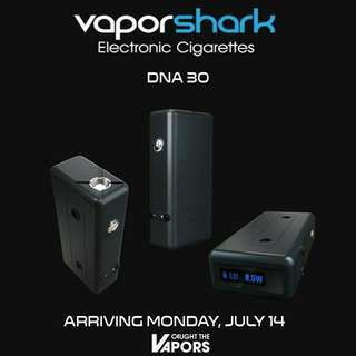 現貨全新正版鯊魚機 vaporshark