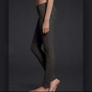 Abercrombie and fitch suede jeggings