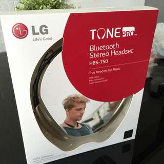 Brand New LG Bluetooth Stereo Headset