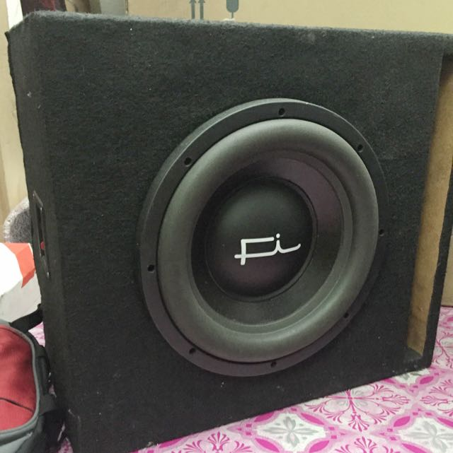 12 Inch subwoofer Fi Q 1000rms Made In USA
