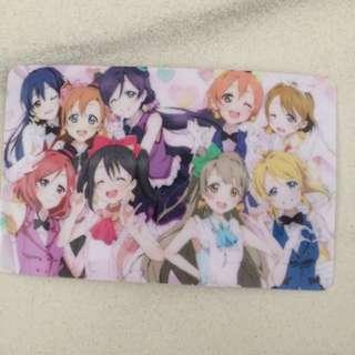 Love Live Ezlink Card Sticker