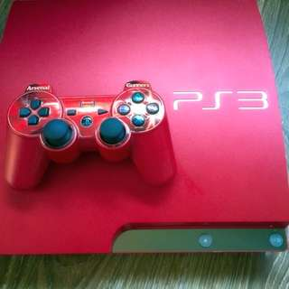 Sony Playstation 3 (Red) Limited Edition