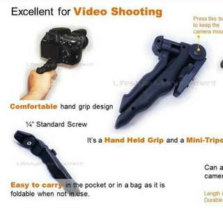 DSLR Camera Pistol Grip Tripod/Monopod
