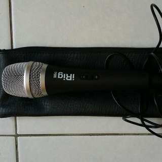 Android / iPhone Compatible iRig Mic
