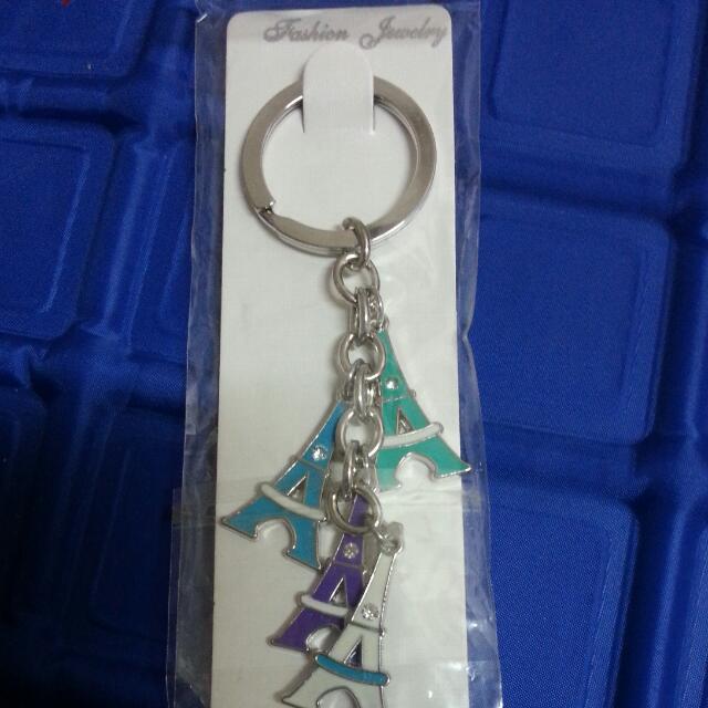 (含運)鐵塔鑰匙圈
