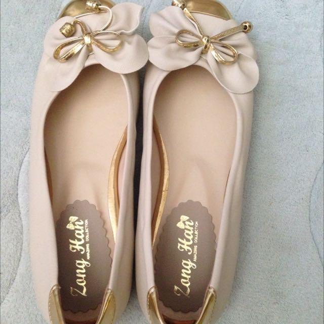 全新 淑女鞋/宴會鞋/ 平底鞋 24.5