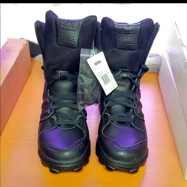 plutôt sympa 0b33e ca50c Adidas GSG 9.2 Black Tactical Boots, Men's Fashion on Carousell