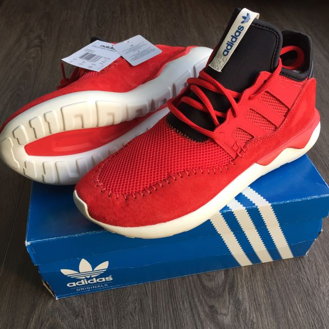 best cheap f16d0 6aac3 Adidas Tubular Moc Runner Sneakers US9