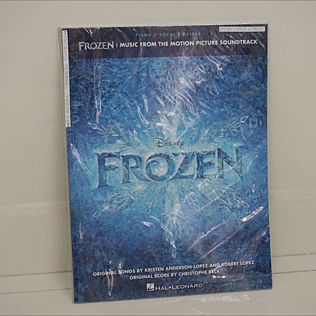 FROZEN OST Piano/Vocal/Guitar Sheet Music