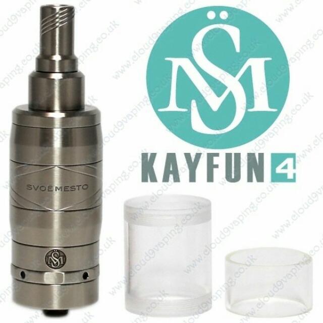 保證正版KAYFUN4霧化器 👍原裝進口