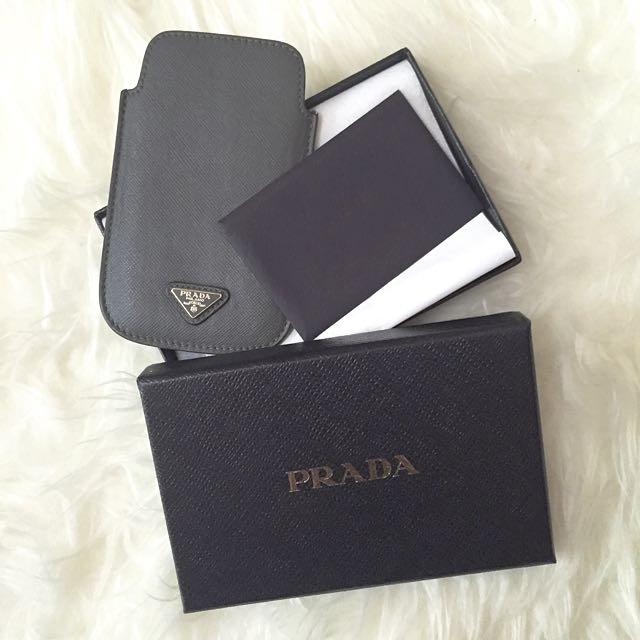 全新Prada手機套