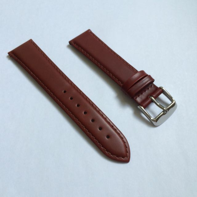 Timex 20mm Brown Leather Watch Strap Band