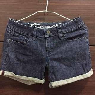 Esprit單寧短褲