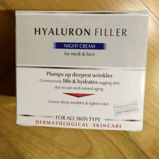 [Brand New] Eucerin Anti-age Hyaluron Filler - Night Cream For Neck And Face