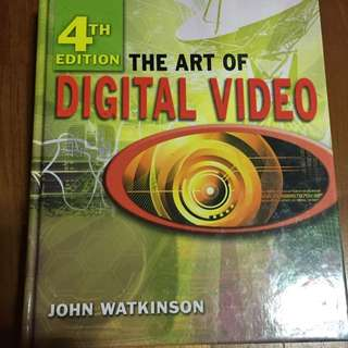 The Art of Digital Video Textbook by John Watkinson