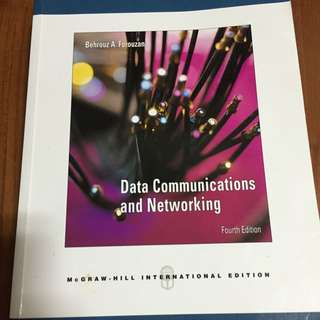 Data Communicatons and Networking