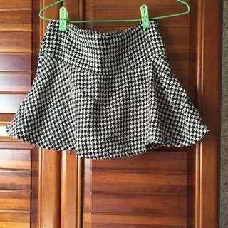 🆕新/千鳥格褲裙