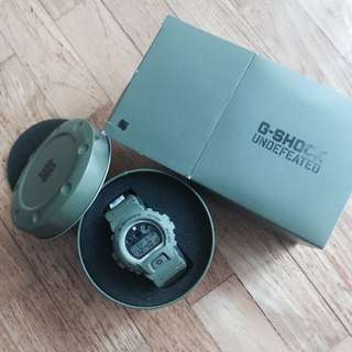 Brand New Undefeated Gshock