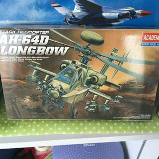 BNIB Academy 1/48 AH-64D Apache Longbow