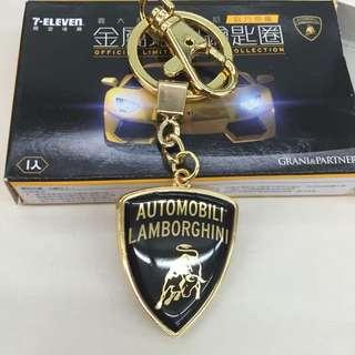 711 藍寶堅尼 鑰匙圈