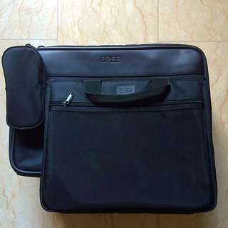 BREE Hand Carry Luggage With Laptop Case