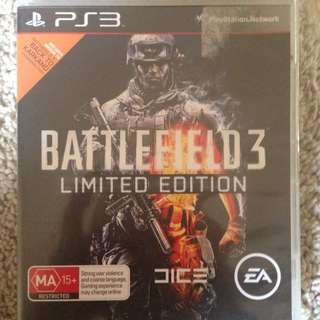 Battlefield 3 : Limited Edition For PS3