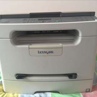 Lexmark 3 In 1 Wireless Laser Printer