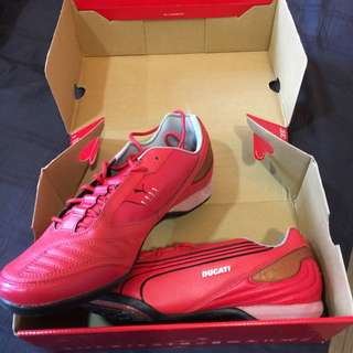 DUCATI PUMA Red Sports Shoes. BNIB Size US12