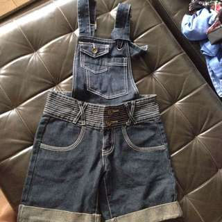 Denim One-piece/Overalls