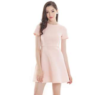 *PREMIUM* TCL SWEET SENTIMENT DRESS IN LIGHT PINK