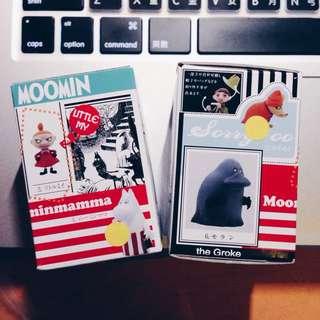 Moomin 慕敏 嚕嚕咪 嚕嚕米 盒玩